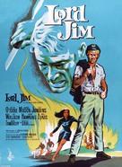 Lord Jim - Danish Movie Poster (xs thumbnail)