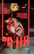 The Driller Killer - German DVD cover (xs thumbnail)