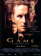 The Game - Spanish Movie Poster (xs thumbnail)