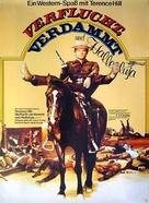 E poi lo chiamarono il magnifico - German Movie Poster (xs thumbnail)