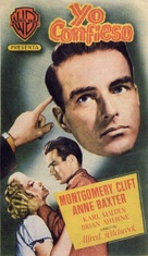 I Confess - Spanish Movie Poster (xs thumbnail)