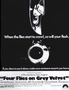 4 mosche di velluto grigio - Movie Poster (xs thumbnail)