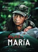 Alias María - French Movie Poster (xs thumbnail)
