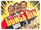 Gunga Din - British Movie Poster (xs thumbnail)