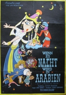 1001 Arabian Nights - German Movie Poster (xs thumbnail)