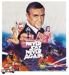 Never Say Never Again - British Movie Poster (xs thumbnail)