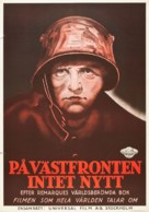 All Quiet on the Western Front - Swedish Movie Poster (xs thumbnail)
