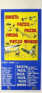 It's a Mad Mad Mad Mad World - Italian Movie Poster (xs thumbnail)