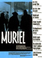 Muriel ou Le temps d'un retour - French Movie Poster (xs thumbnail)