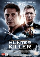 Hunter Killer - Australian Movie Poster (xs thumbnail)