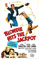 Blondie Hits the Jackpot - Movie Poster (xs thumbnail)