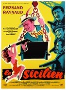 Sicilien, Le - French Movie Poster (xs thumbnail)