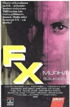 F/X - Finnish VHS movie cover (xs thumbnail)