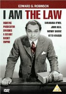 I Am the Law - British DVD movie cover (xs thumbnail)