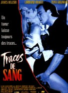 Traces of Red - French Movie Poster (xs thumbnail)