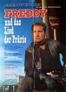 Freddy und das Lied der Prärie - German Movie Poster (xs thumbnail)