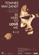 Be Here to Love Me: A Film About Townes Van Zandt - Swiss Movie Poster (xs thumbnail)