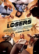 The Losers - Romanian Movie Poster (xs thumbnail)