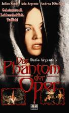 Il fantasma dell'opera - German VHS cover (xs thumbnail)