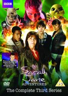 """The Sarah Jane Adventures"" - British DVD movie cover (xs thumbnail)"