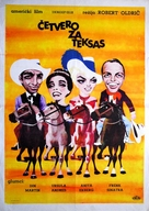 4 for Texas - Yugoslav Movie Poster (xs thumbnail)