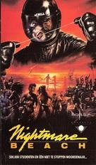 Nightmare Beach - Belgian VHS movie cover (xs thumbnail)