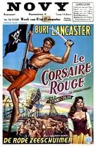 The Crimson Pirate - Belgian Movie Poster (xs thumbnail)
