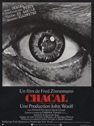 The Day of the Jackal - French Movie Poster (xs thumbnail)