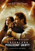 Greenland - Slovak Movie Poster (xs thumbnail)