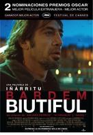 Biutiful - Argentinian Movie Poster (xs thumbnail)