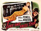 Take One False Step - Movie Poster (xs thumbnail)