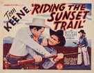 Riding the Sunset Trail - Movie Poster (xs thumbnail)