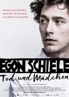 Egon Schiele: Tod und Mädchen - Austrian Movie Poster (xs thumbnail)