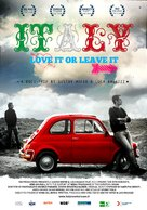 Italy: Love It, or Leave It - German Movie Poster (xs thumbnail)