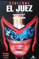 Judge Dredd - Argentinian Movie Cover (xs thumbnail)