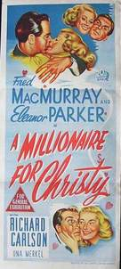 A Millionaire for Christy - Australian Movie Poster (xs thumbnail)