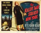 The Killer That Stalked New York - Movie Poster (xs thumbnail)