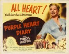 Purple Heart Diary - Movie Poster (xs thumbnail)