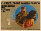 Reflections in a Golden Eye - British Movie Poster (xs thumbnail)