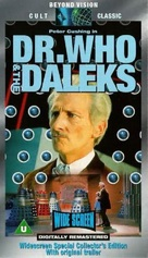Dr. Who and the Daleks - British VHS movie cover (xs thumbnail)