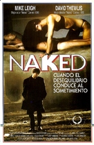 Naked - Argentinian Movie Poster (xs thumbnail)