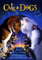 Cats & Dogs - British DVD movie cover (xs thumbnail)