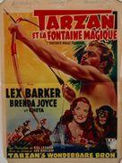 Tarzan's Magic Fountain - Belgian Movie Poster (xs thumbnail)