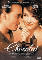 Chocolat - Latvian Movie Cover (xs thumbnail)