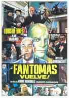 Fantômas se dèchaîne - Spanish Movie Poster (xs thumbnail)
