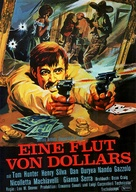 Fiume di dollari, Un - German Movie Poster (xs thumbnail)
