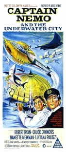 Captain Nemo and the Underwater City - Australian Movie Poster (xs thumbnail)