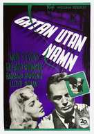 The Street with No Name - Swedish Movie Poster (xs thumbnail)