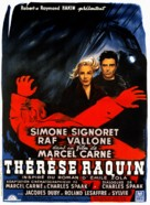 Thèrése Raquin - French Movie Poster (xs thumbnail)