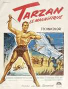 Tarzan the Magnificent - French Movie Poster (xs thumbnail)